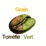 Café torréfié VS vert